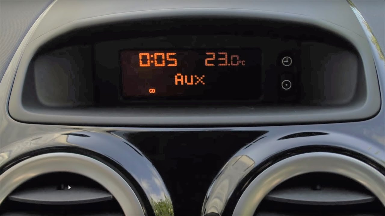 Dashboard Clock Radio Bulb Replacement  Vauxhall Opel Corsa D  YouTube