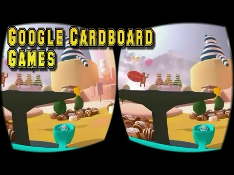 Top 17 Best VR Games For Android 2016   Google Cardboard