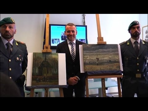 Camorra, recuperati due dipinti di Van Gogh rubati nel 2002