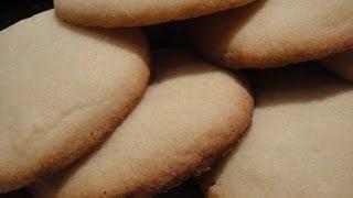 How To Make Vanilla Sugar Cookies From Scratch Recipe - 曲奇食譜