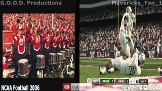 The Evolution of NCAA Football (2002-2014)