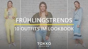 Frühlingstrends - 10 Outfits im Lookbook   Angesagte Frühlingsfarben für Deinen Kleiderschrank