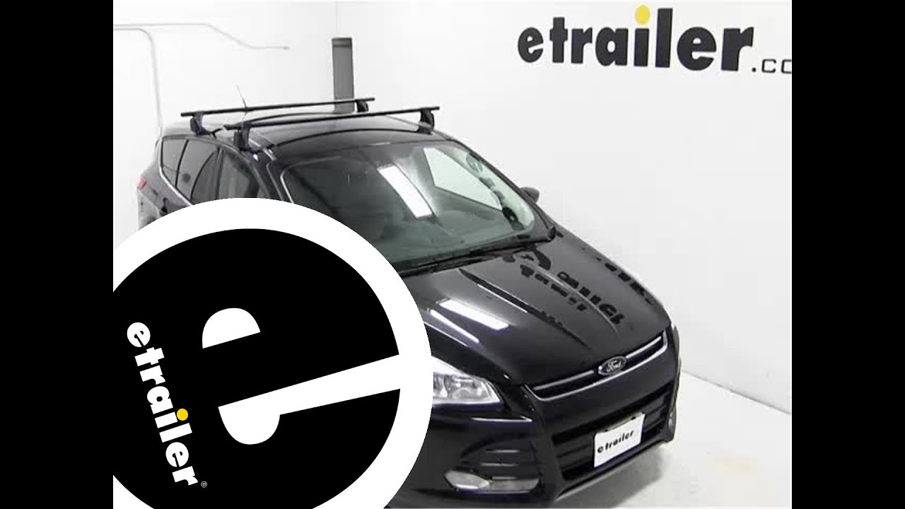 Yakima Q Tower Roof Rack Installation - 2013 Ford Escape ...