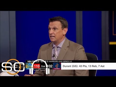 Tim Legler Explains How Kevin Durant Put Warriors On His Back Early In Game 3 | SC With SVP | ESPN