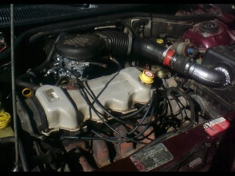 ford escort замена карбюратора на инжектор