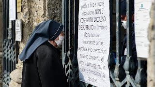 Коронавирус опустошает Бергамо