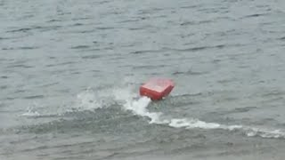 Home Made Rc Jet Boat 3s Test