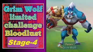 How To Complete Gŗim Wolf Limited Challenge BloodLust Stage 4 - Lords Mobile
