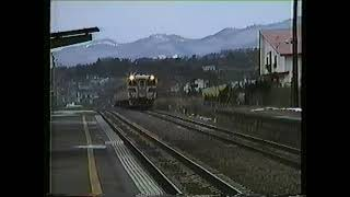 キハ82系、臨時北斗高速通過。