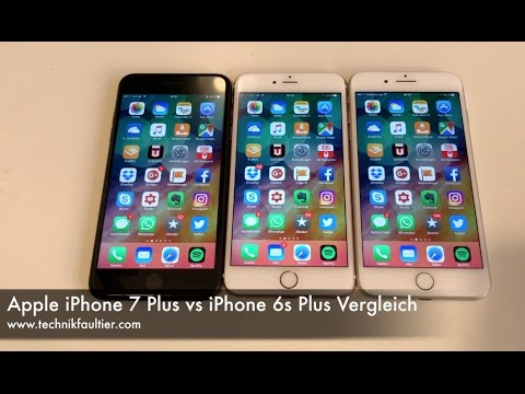 Apple iPhone 7 Plus vs iPhone 6s Plus Vergleich