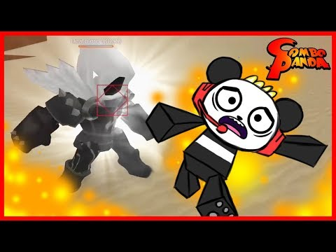 Смотреть клип Roblox Elemental Battlegrounds DEATHLORD BOSS Let's Play with Combo Panda онлайн бесплатно в качестве