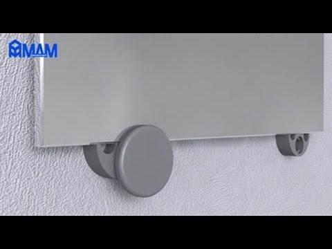 Крепление зеркала к стене MA.1180