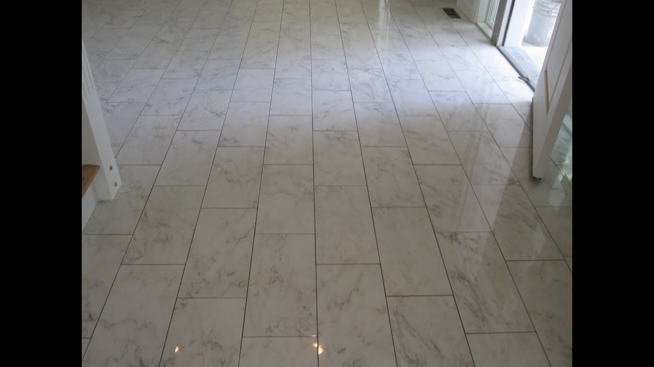ceramic tile Front Hall - YouTube