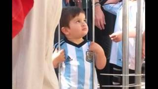 Messi proves his love for his son Thiago Argentina Part 2