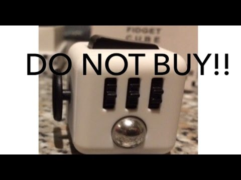 DO NOT BUY THIS FIDGET CUBE