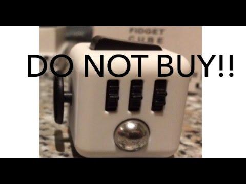 DO NOT BUY THIS FIDGET CUBE!! - Fidget cube comparison