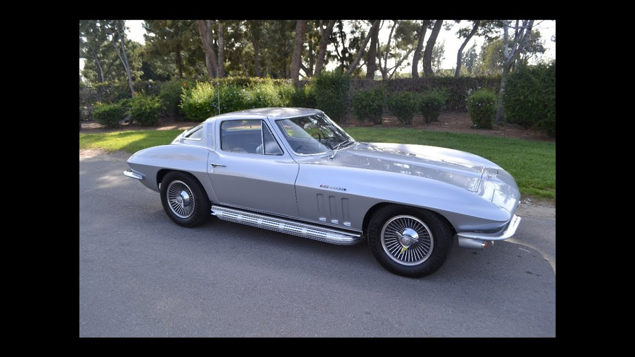 SOLD 1965 Chevrolet Corvette Fuel Injected Coupe Silver