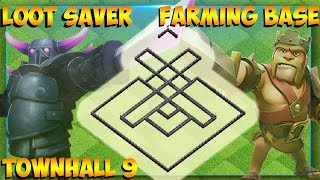 NEW BEST FARMING BASE 2019 !! | TOWNHALL 9 | ANTI LOOT | CLASH OF CLANS