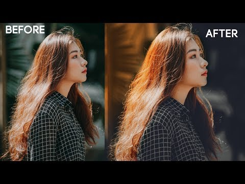 How To Retouch Moody Portrait With Raw Preset | Photoshop Tutorial thumbnail