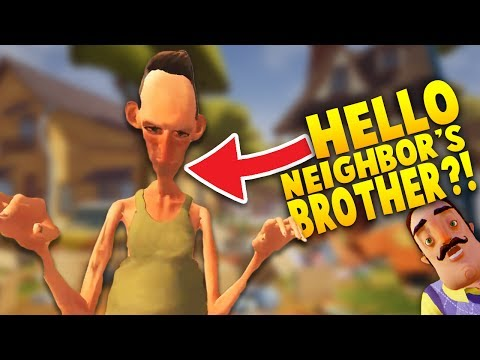 DID WE FIND HELLO NEIGHBOR'S CRAZY BROTHER!? | Hello Neighbor Mobile Game Rip off (iOS/Android Game)