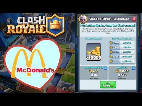 McDonald's, Clash Royale and battlegrounds