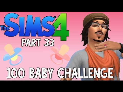 The Sims 4: 100 Baby Challenge - Johnny Depp's Twins! (Part 33)