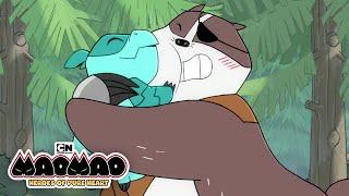 Badgerclops' New Friend | Mao Mao | Cartoon Network M・A・O 検索動画 28