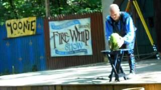 Adam Crack Demolishes Watermelon