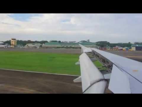 Philippine Airline landing @ Puerto Princesa International Airport
