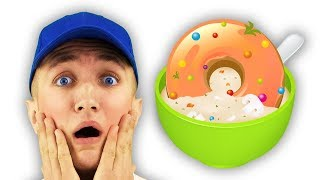Do You Like Donuts Soup Song for Kids | Super Simple Nursery Rhymes. Sing Along With Tiki.