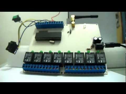 CONTROLE E MONITORAMENTO VIA GSM - SMS