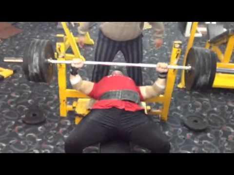 Benchpress 170 kg 3 reps kurdish power