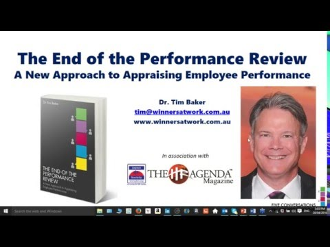 JHRS WEBINAR | The End of the Performance Review - A New Approach to Appraising Employee Performance
