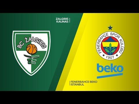 Zalgiris Kaunas - Fenerbahce Beko Istanbul Highlights | Turkish Airlines EuroLea