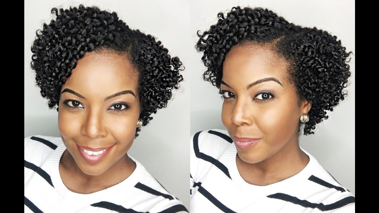 How To Flat Twist Out On Short Natural Hair Twa Youtube