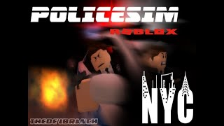 Roblox gameplay || NYC police sim #8