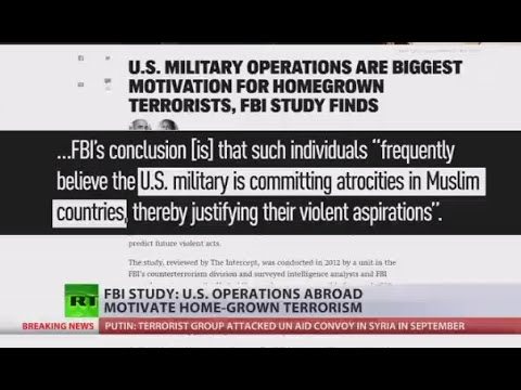 US ops abroad motivate home-grown terrorism - FBI study