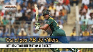 Former South Africa captain AB deVillers retires from all forms of cricket [Full Speech]