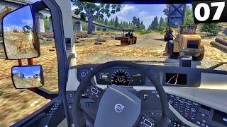 Construção na Estrada - Euro Truck Simulator 2