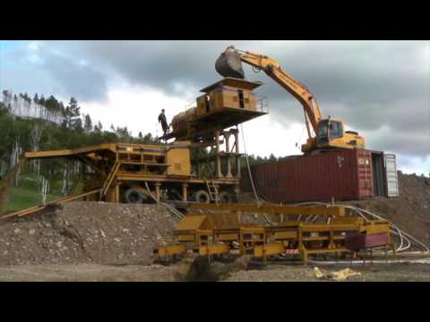 Mongolia Gold Mine - Field Video