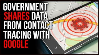 Contact Tracing Data SHARED By Government In North Dakota With Private Companies Google, Foursquare