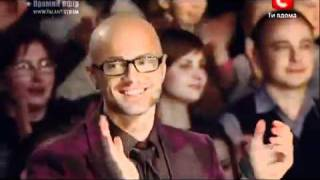 «Україна має талант-3» полуфинал - Артём Лоик рэп