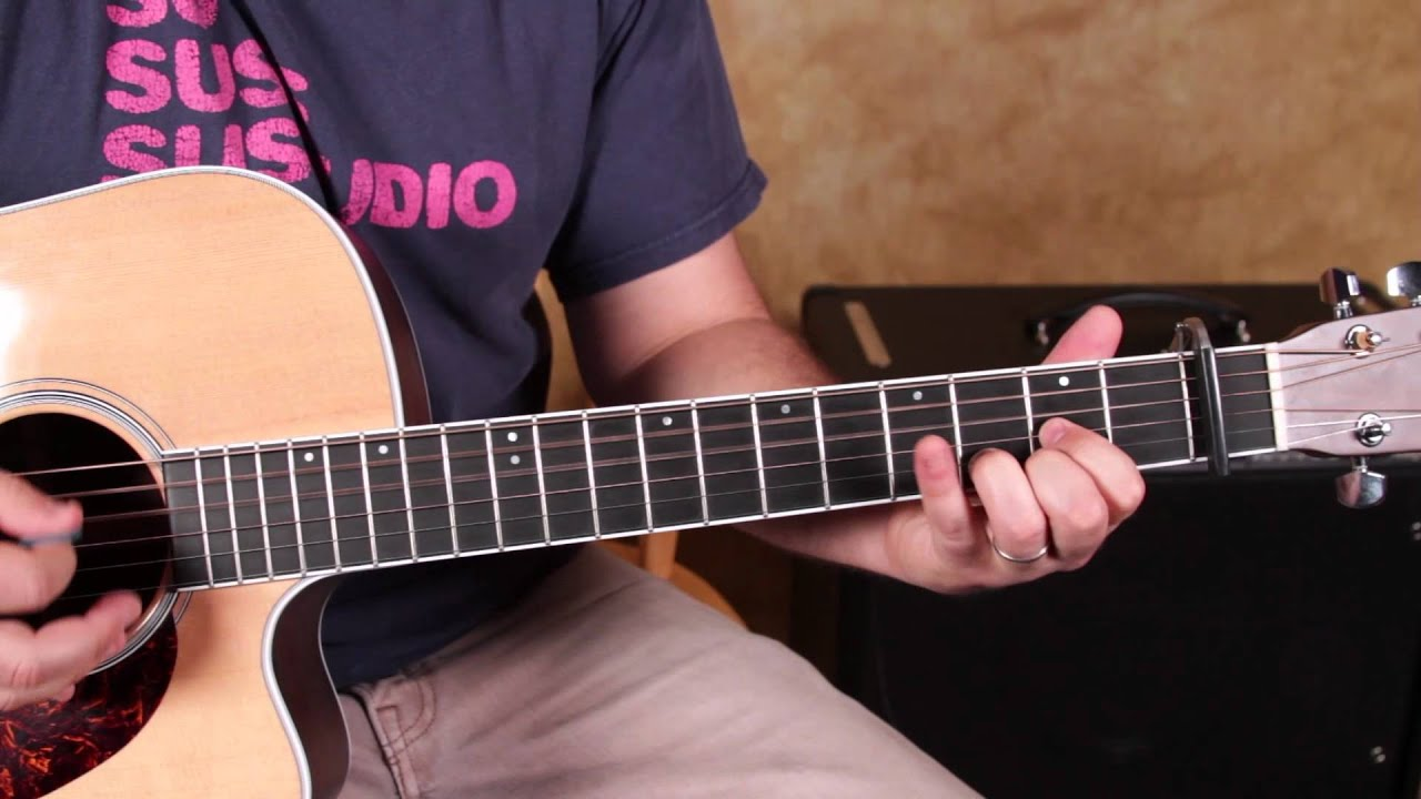 how to play i walk the line by johnny cash acoustic guitar songs
