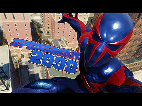 TRAJE SPIDERMAN 2099 vs LA YOUTUBER LOCA