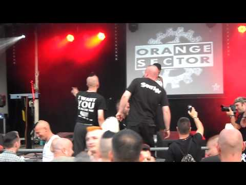 Orange Sector - Der Maschinist (Familientreffen X., 4. 7. 2014 Sandersleben)