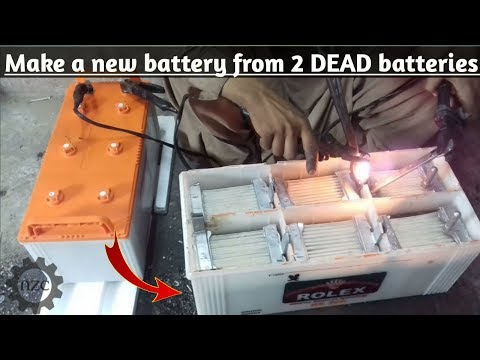 Смотреть Lead acid Battery making process complete step by step.|start your own battery making business | онлайн