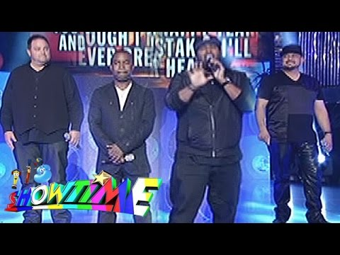 """It's Showtime Singing Mo 'To: All 4 One sings """"I Swear"""""""