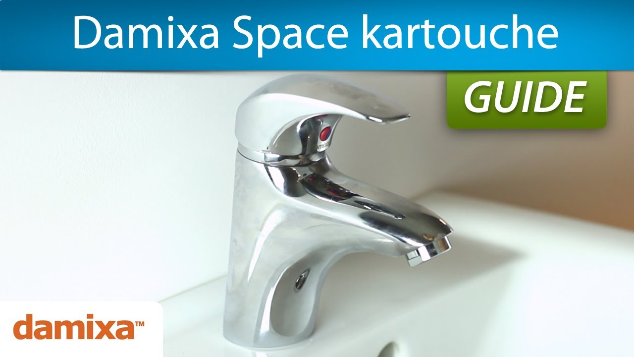 Fantastisk Udskift kartouche | Damixa Space vandhane - YouTube GY69