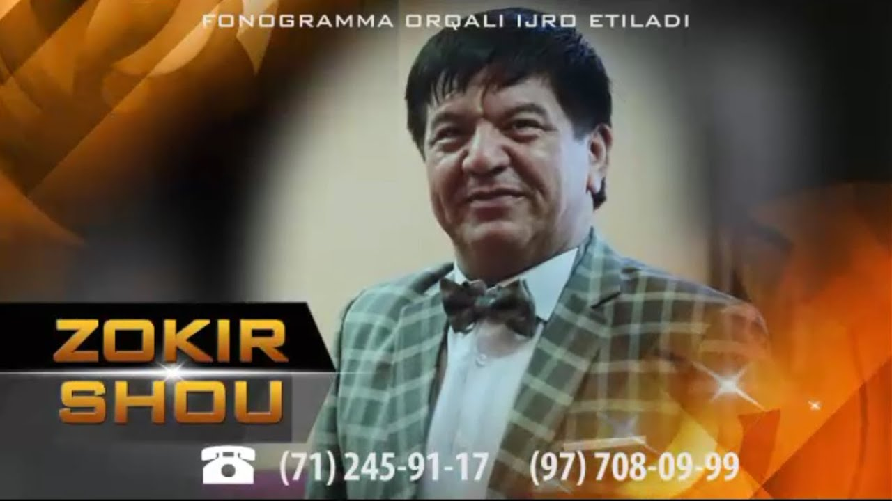 Afisha - Zokir SHOU reklama 2015