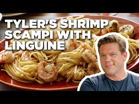 How to Make Tyler's Shrimp Scampi with Linguine | Food Network